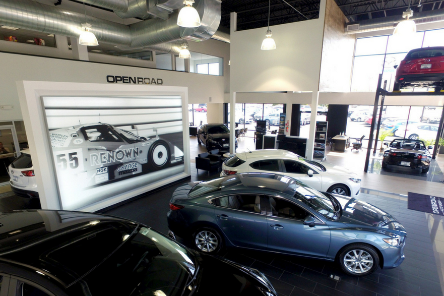 Mazda of East Brunswick | WESKetch Architecture and Construction