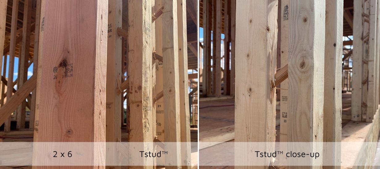 2 x 6 versus Tstud | WESKetch Architecture + Construction